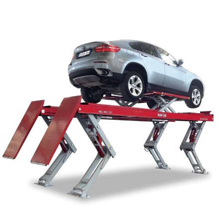 Ponti sollevatori per auto omer s p a ponti for 2 officine di garage per auto